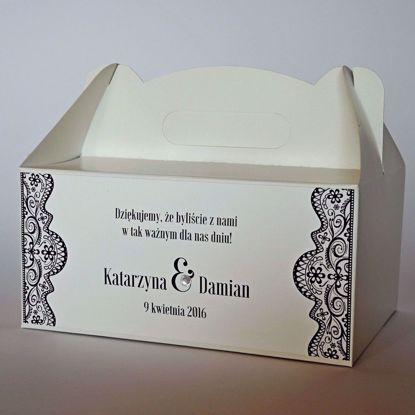 pudełko na ciasto